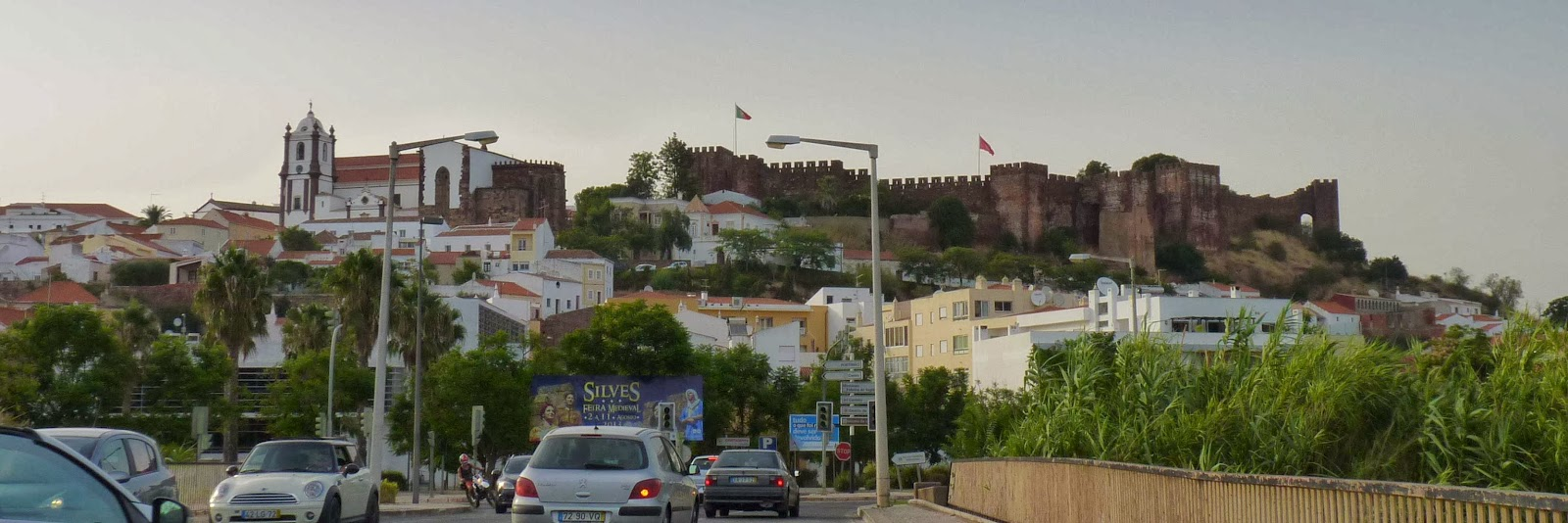 Castillo y Catedral de Silves.