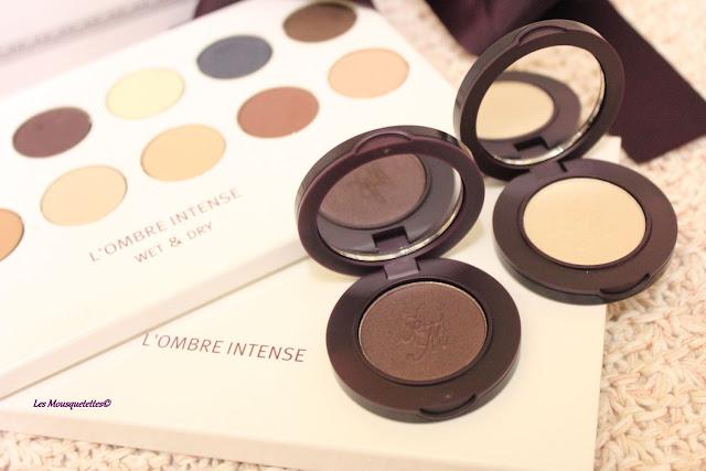 Fards à paupières - Ombres Intenses - L'Atelier Maquillage - Blog beauté Les Mousquetettes©