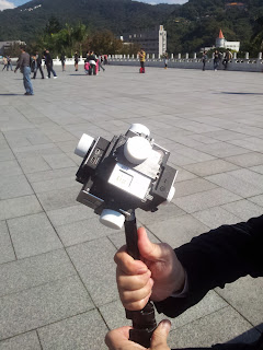 Six GoPro Camera on a monopole
