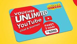 Cara Daftar Paket Unlimited Youtube Indosat