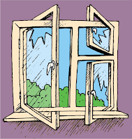 gambar animasi jendela terbuka