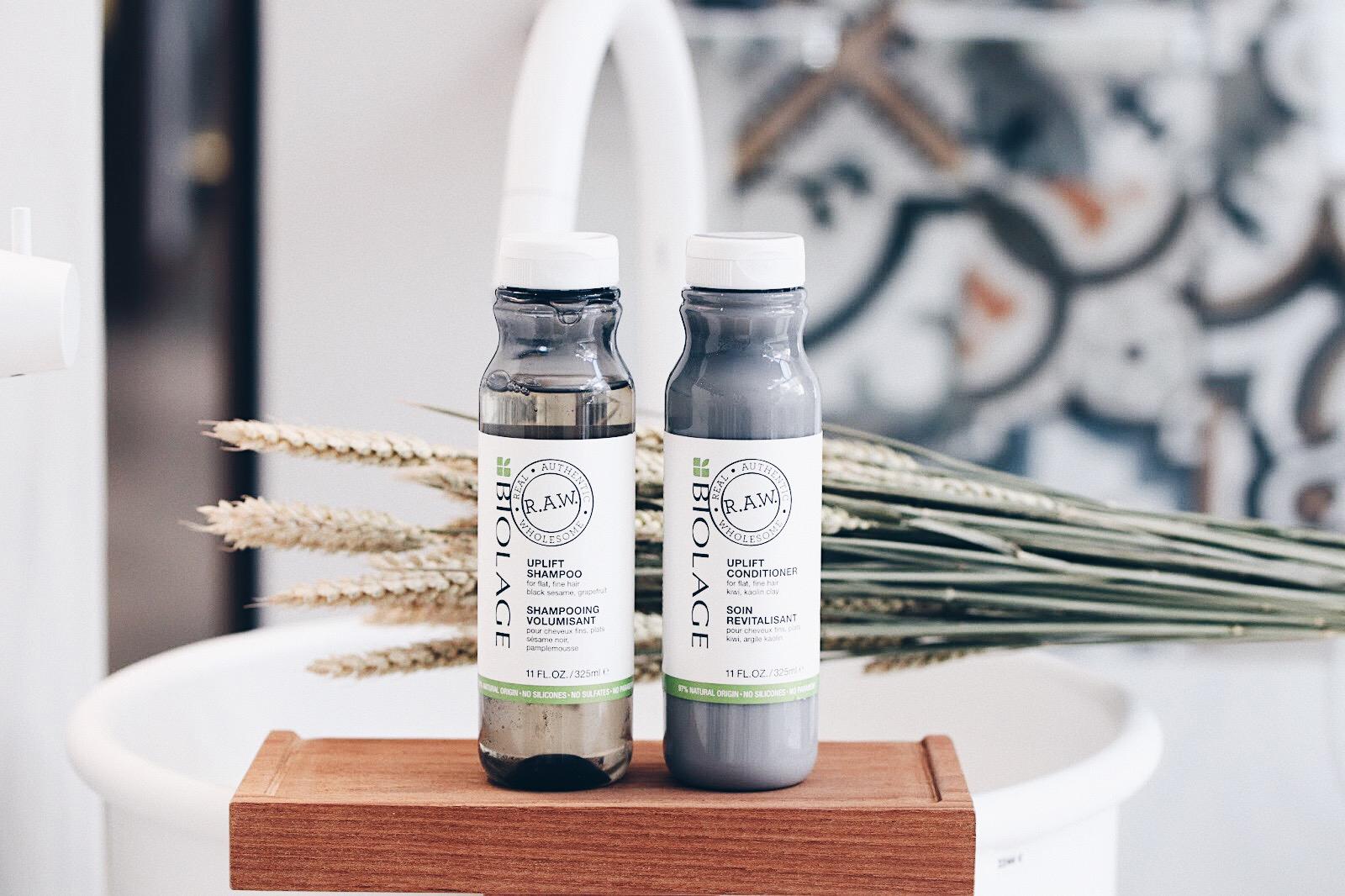 biolage raw uplift shampooing apres volume avis test