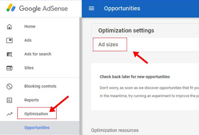 Google Adsense Ad Units क्या है,Google Adsense Ads Automatically Optimize कैसे करे,Siztalk,SEO trick