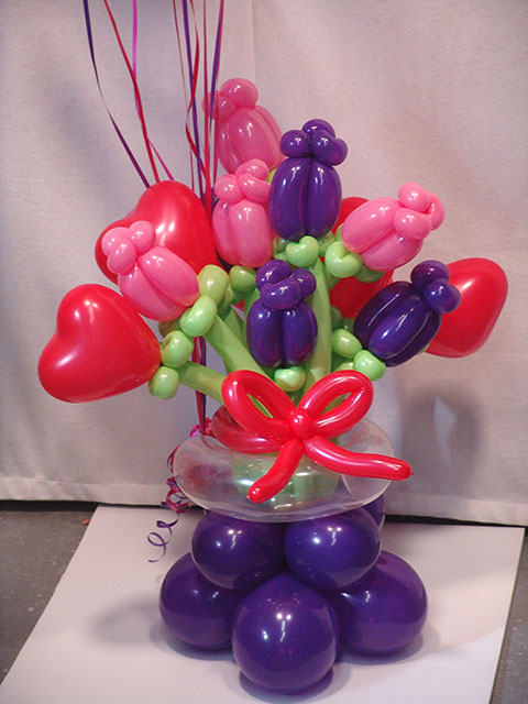 Decoraciones Con Globos Lorens Como Hacer Flores Con Globos Para - Como-hacer-flores-de-globos