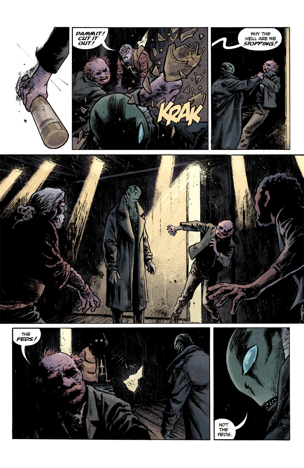 Read online Abe Sapien comic -  Issue #1 - 21