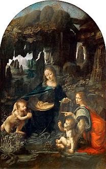 La Virgen de las Rocas (Leonardo da Vinci)