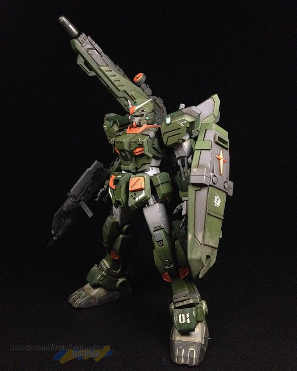 painted build hguc 1 144 fa 78 3 full armor 7th gundam gundam