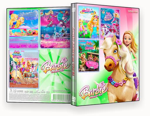 COLEÇÃO BARBIE 3X1 VOL 38 DVD-R 2018