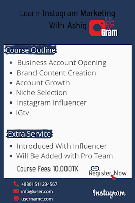 Instagram Marketing, Freelancing Course, Digital Marketing