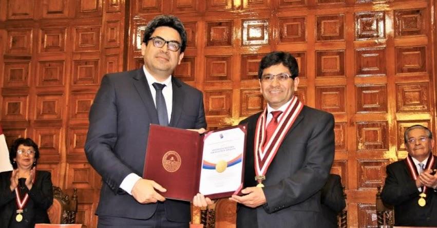 UNSA: SUNEDU entrega Licenciamiento Institucional por 10 años a la Universidad Nacional de San Agustín de Arequipa - www.unsa.edu.pe