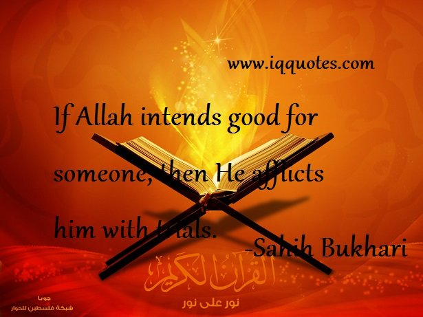 If Allah intends good for someone - Quotes
