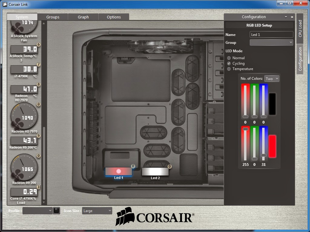 Quick Review: Corsair Link Lighting Node 36