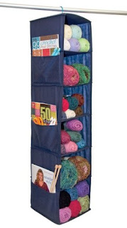 hanging yarn storage