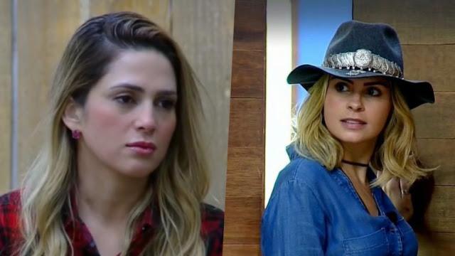 Após expulsão de Nadja, boatos de volta de Ana Paula circulam nos basditores de 'A Fazenda'