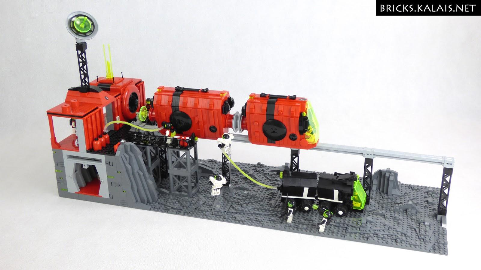 [MOC] M:tron monorail