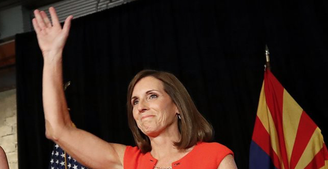 New Poll Shows McSally Ahead of Sinema in Arizona