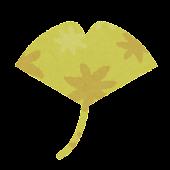 秋のマーク「銀杏」