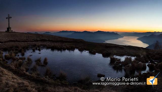 Monte Cadrigna e lago Maggiore