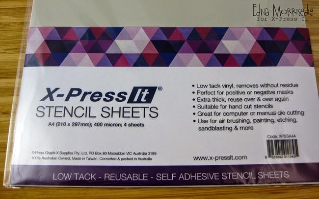 X-Press It Australia | X-Press It Stencil Sheets: White Card
