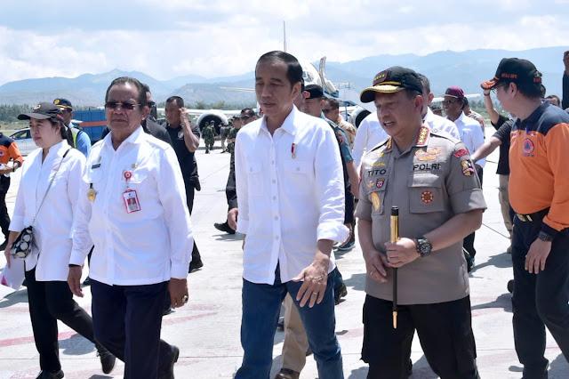 Sikap Jokowi Soal Permintaan Amien Rais Agar Kapolri Dicopot