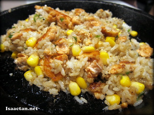 Salmon Pepper Rice with Cheese @ Pepper Lunch Express Food Republic 1Utama