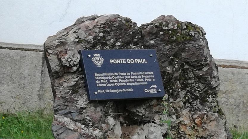 Placa Ponte de Paúl
