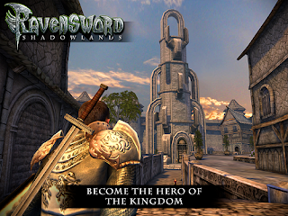 Ravensword Shadowlands yaitu sebuah game open world RPG Unduh Game Android Gratis Ravensword: Shadowland 3D RPG apk (English)