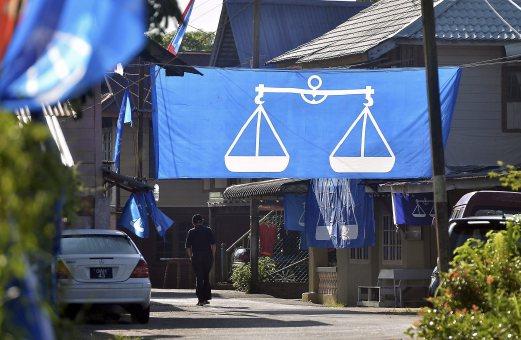 barisan nasional, bendera barisan nasional, pilihanraya sarawak, keputusan pilihanraya sarawak