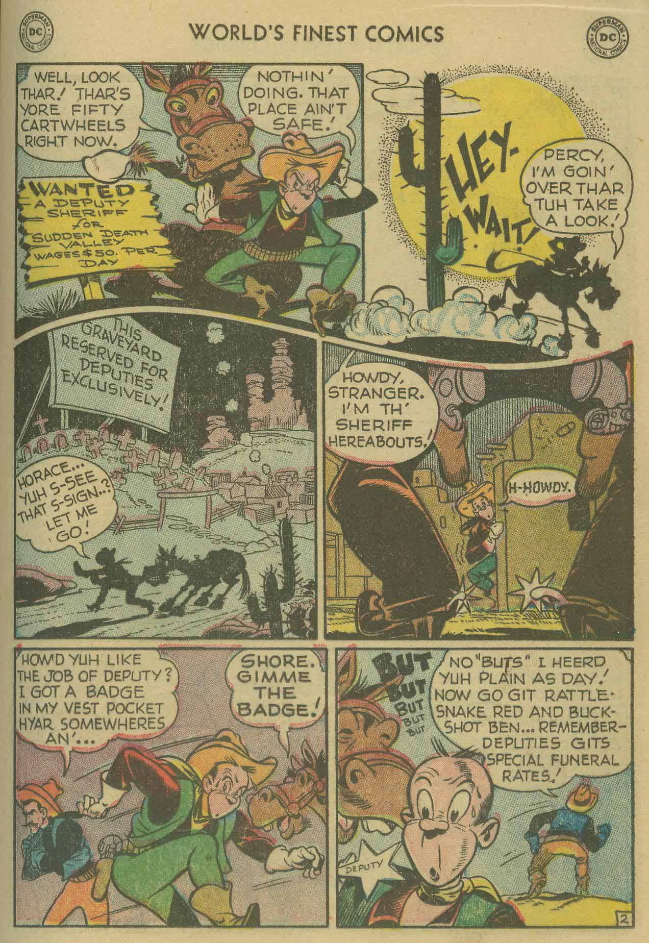 Read online World's Finest Comics comic -  Issue #69 - 39