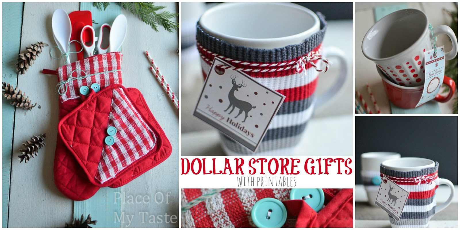 3 LAST MINUTE HANDMADE GIFTS FROM $1 STORE