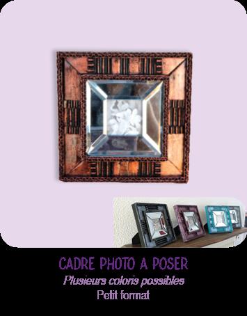 Petits cadres photo à poser en carton - par Cartons Dudulle