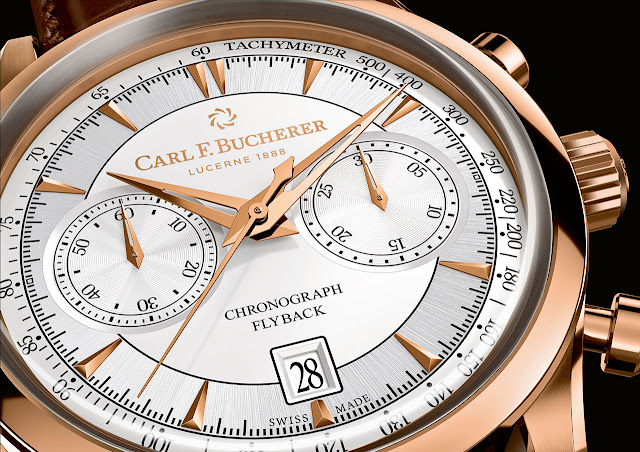 Carl F. Bucherer Manero Flyback Mechanical Automatic