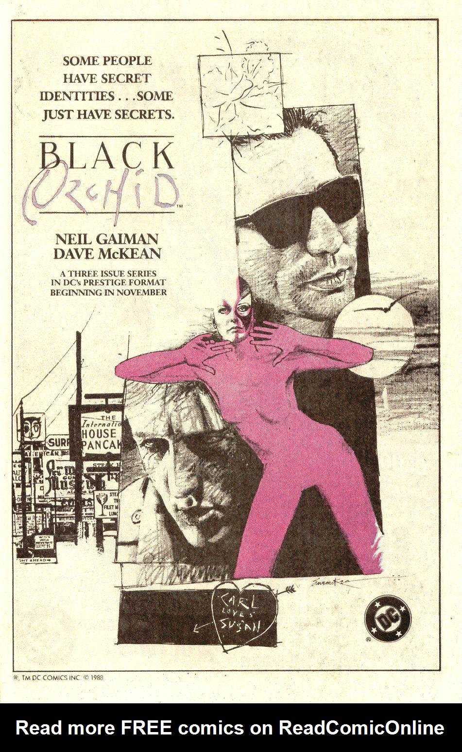 Read online Secret Origins (1986) comic -  Issue #34 - 39