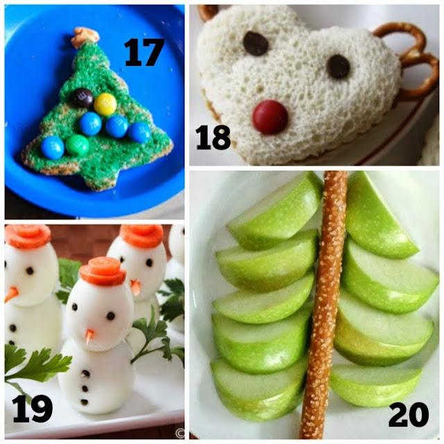 Healthy Holiday Snacks Collage 5