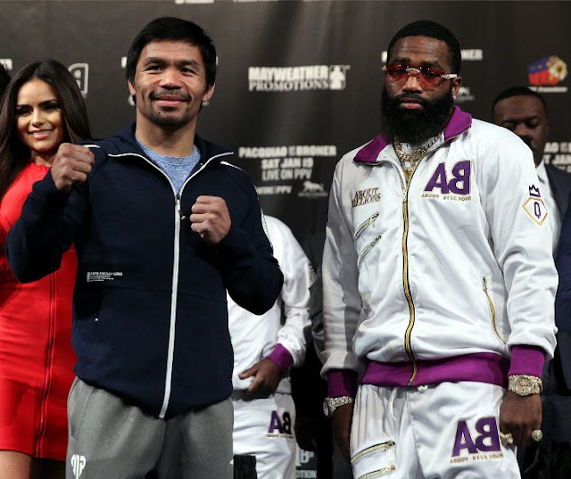 Manny Pacquiao and Adrien Broner Final press Conference