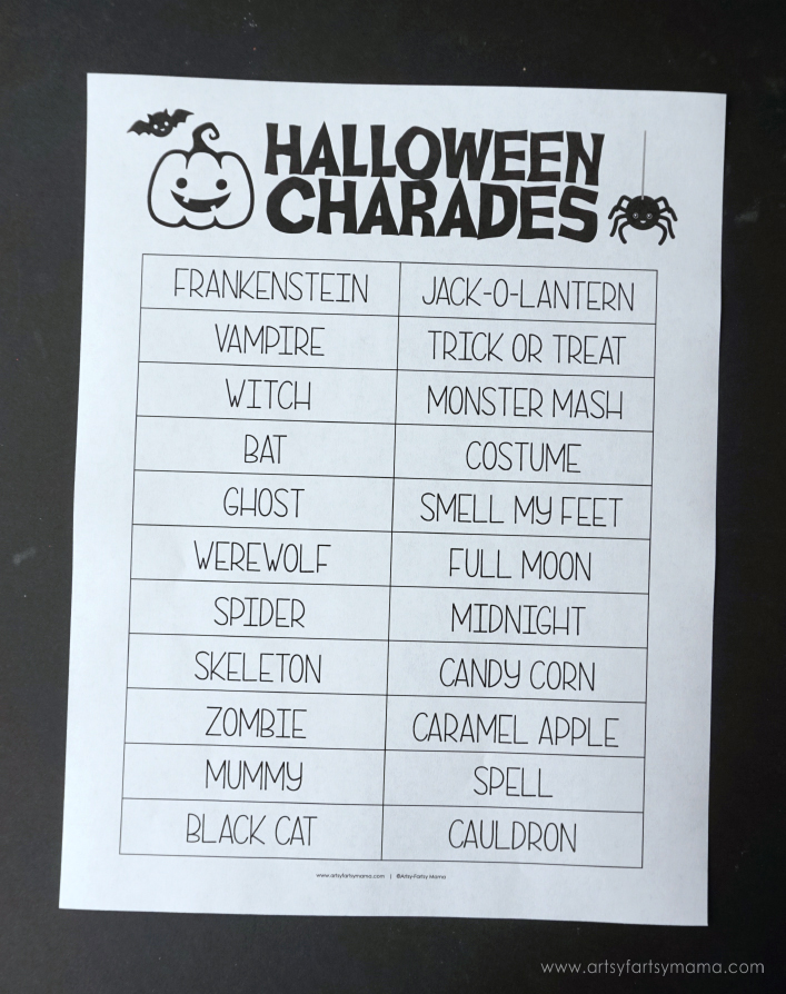 Charades Ideas For Kids Of All Ages - The Ultimate List (130 Ideas