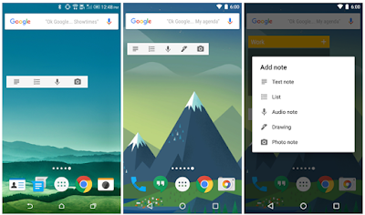 Google Released Drawing Mode Widget for Android Users : Download APK
