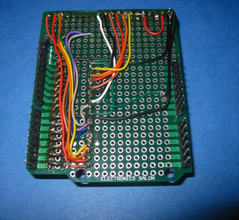 My model railroad september updated arduino uno