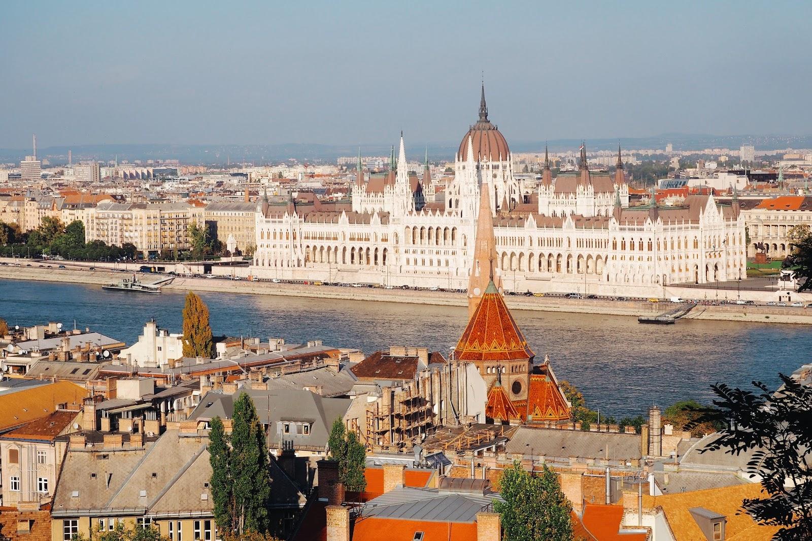 Interrail itinerary Budapest