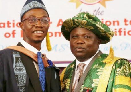 Ambode Adopts LASU's Best Graduating Student, Gives Him N5m