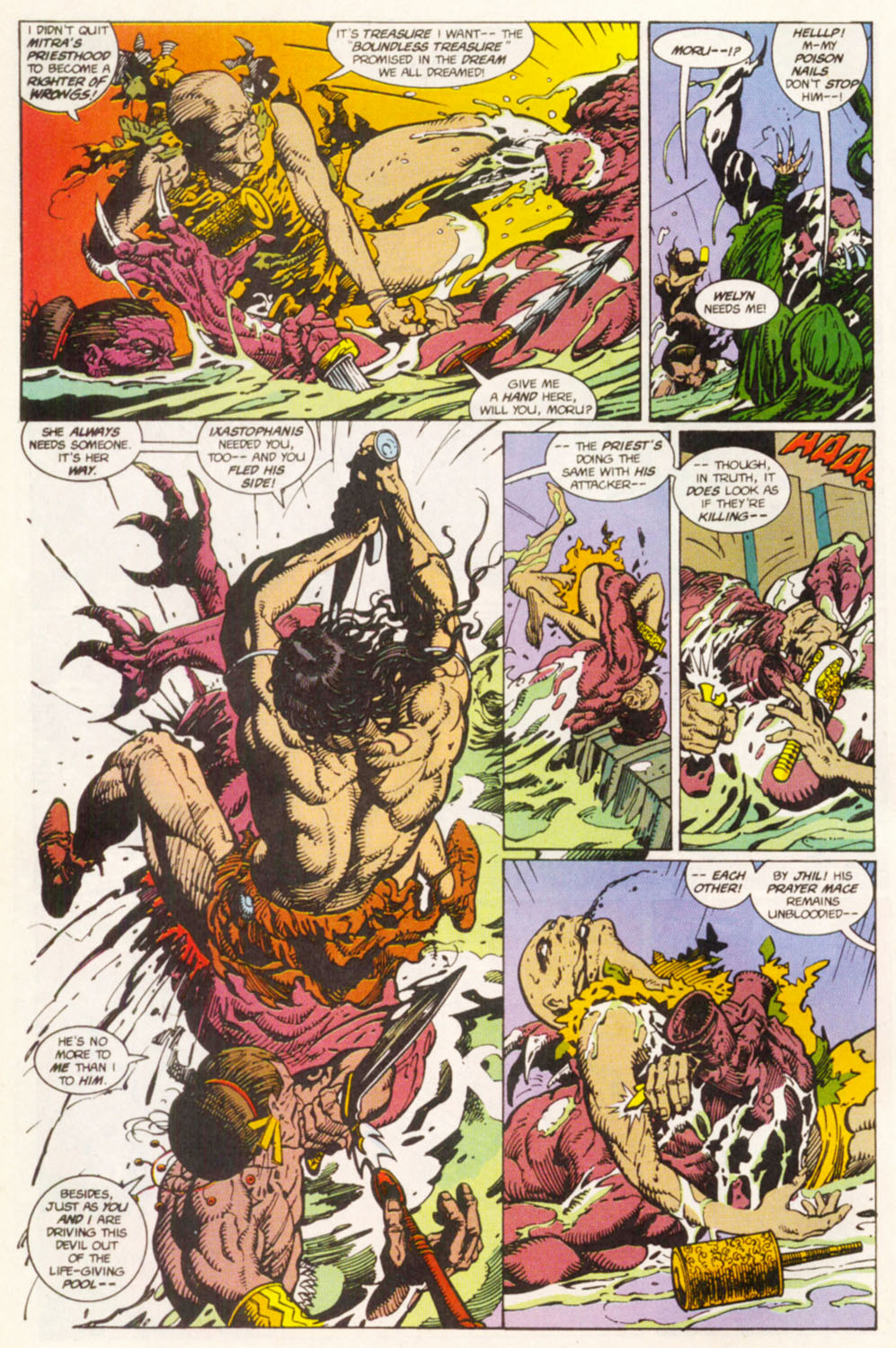 Read online Conan the Adventurer comic -  Issue #14 - 6