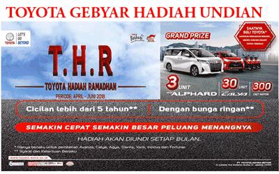 Toyota Promo Hadiah Undian Spesial Ramadhan 2018