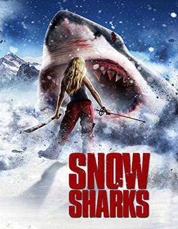 Poster Of Avalanche Sharks 2014 In Hindi Bluray 720P Free Download