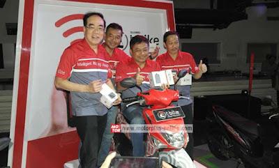 T-bike, Teknologi Monitoring Motor Ketika Motor Hilang
