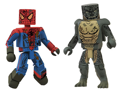 San Diego Comic-Con 2012 Exclusive The Amazing Spider-Man Sewer Battle Marvel Minimates 2 Pack