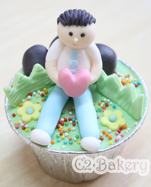 ...C2 Bakery...: Motorcycle Birthday Cupcakes