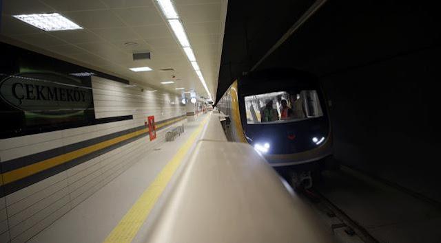 İstanbul'da metro seferleri normale döndü.