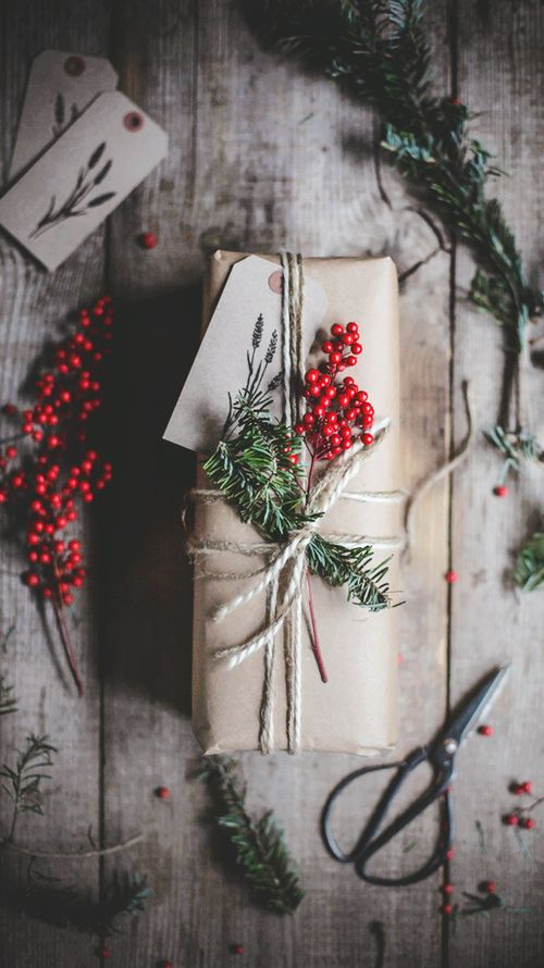 Little Treasures: Rustic Christmas Gift Wrapping Ideas
