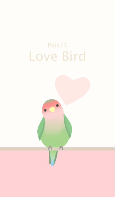 Lovebird/pink13