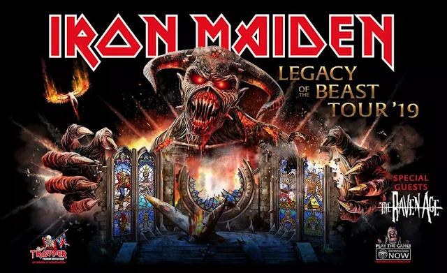 Tour 2019: Iron Maiden confirma shows em São Paulo e Porto Alegre